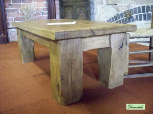 Chunky Chops Oak Table