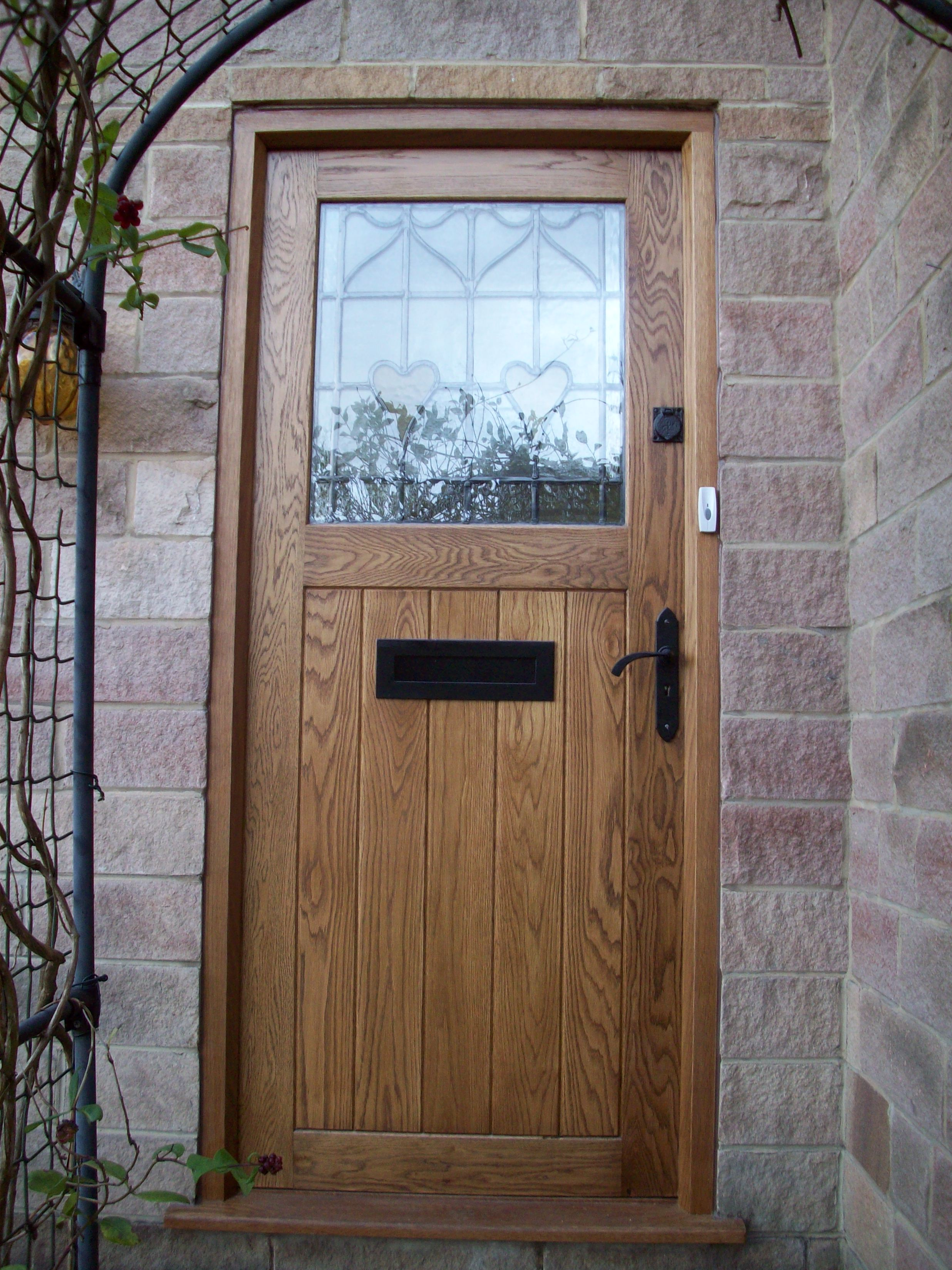 Bespoke doors derwentside shopping mill for External door with window